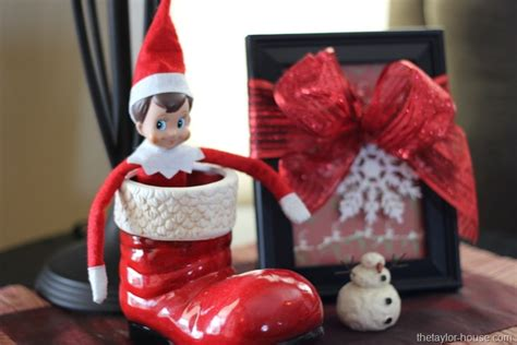 Find On The Shelf by On The Shelf Ideas Stuck In Santa S Boot The