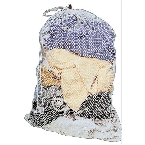 laundry bag sperling 90 x 60cm drawstring mesh laundry bag bunnings warehouse
