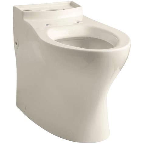 kohler elongated comfort height toilet kohler persuade comfort height elongated toilet bowl only