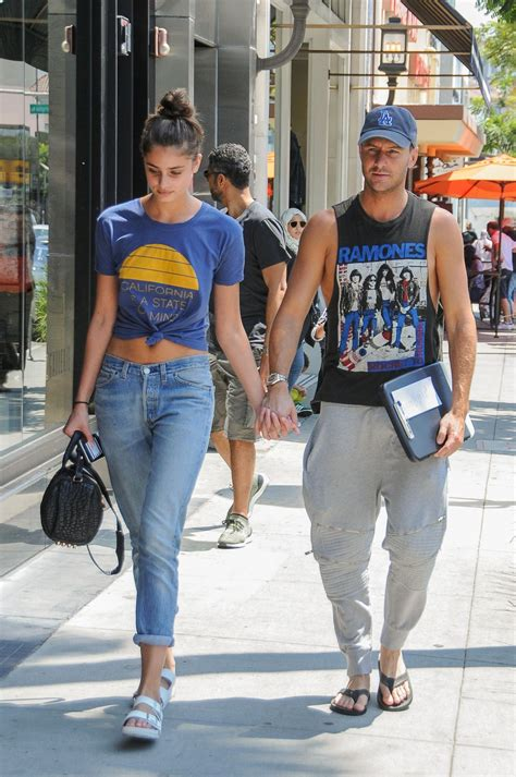 hill with boyfriend michael shank out in los