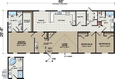1999 redman mobile home floor plans 17 best ideas about manufactured homes floor plans on