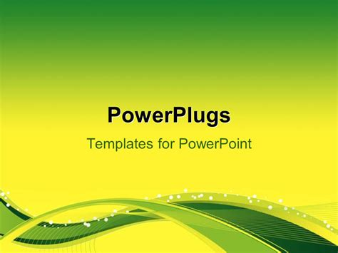 powerpoint templates use powerpoint template flow background with yellow green