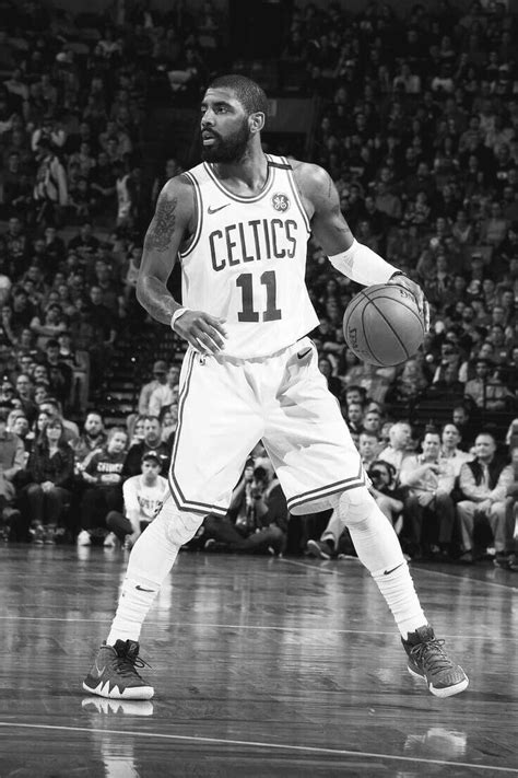 NBA Kyrie Irving Wallpaper   I bleed green and white