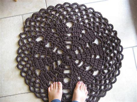 tappeti crochet tappeti uncinetto con fettuccia idee per il design della