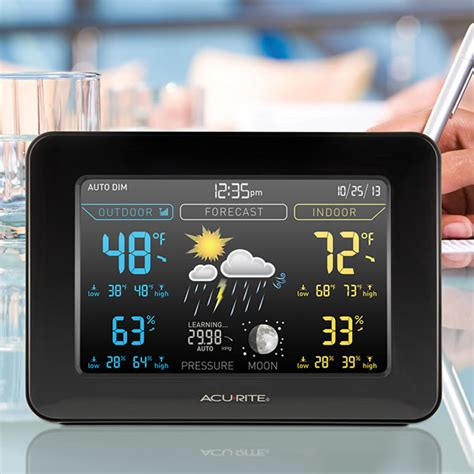 acurite 02027 wireless color weather station acurite