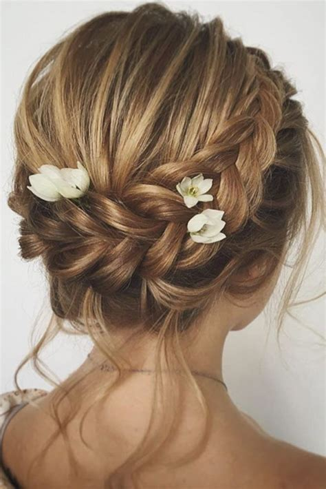 Best Hairstyles For Wedding by Best 25 Wedding Hairstyles For Hair Ideas On