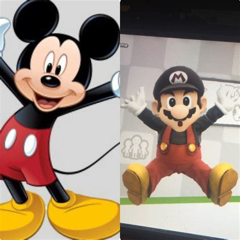 Surpet Mickey Mouse mickey mouse themed mario smash bros for wii u gt skins gt mario gamebanana