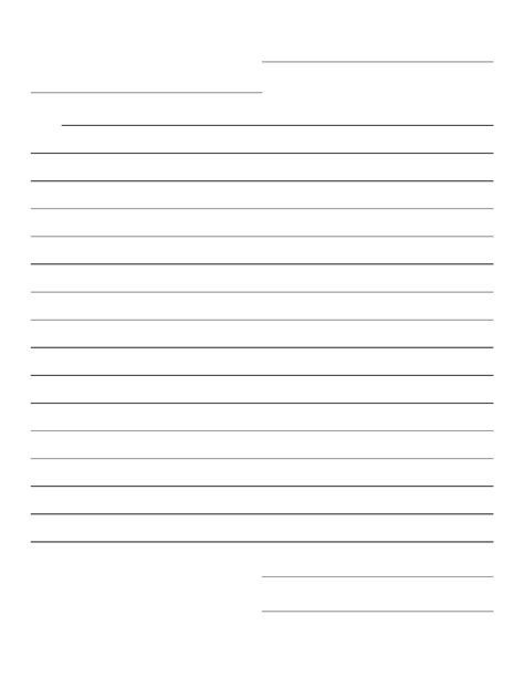 friendly letter template pdf blank friendly letter template with prompts free