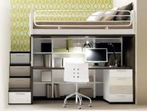 bett mit schreibtisch room smart space saving ideas for small room