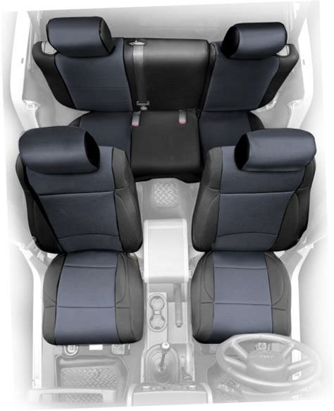 Jeep Cj7 Back Seat 47301 Smittybilt Rear Neoprene Seat Cover For 80 95 Jeep