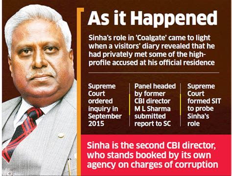 corruption and misuse of office 3e books corruption coal scam cbi books ex chief ranjit sinha