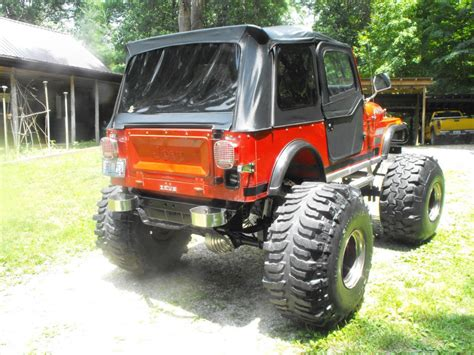 monster jeep cj 1984 jeep cj7 renegade zeus monster for sale