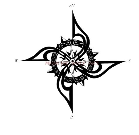 compass rose tattoo design designs by glenda amorphoto