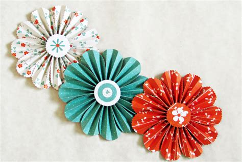 Paper Flower Ideas - paper flowers garland orange turquoise wedding wall decor