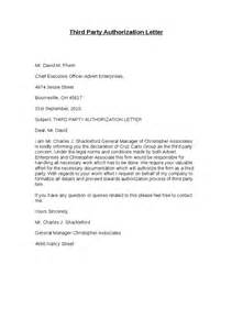 Authorization Letter Between Two Companies Third Authorization Letter Hashdoc