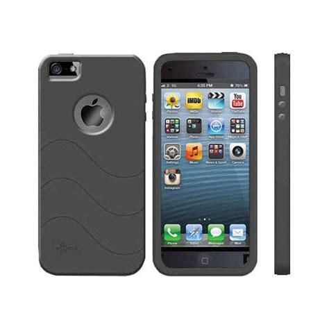 cellsafe silicone case  iphone  black csipsbk bh