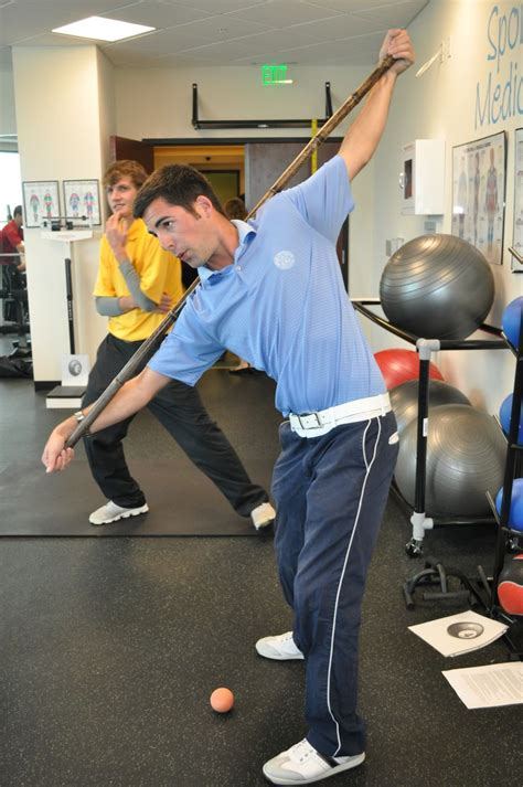 gym exercises for golf swing golf fitness workout class at college of golf life at