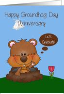 groundhog day wedding groundhog day wedding anniversary cards from greeting card