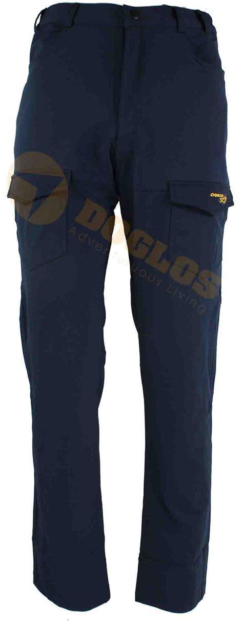 Celana Pria Stretch Hijau Klorofil warna asli lebih terang dari pada gambar celana denim