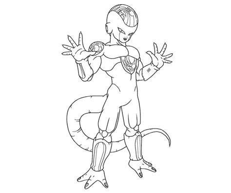 dragon ball z frieza coloring pages golden frieza coloring pages coloring pages