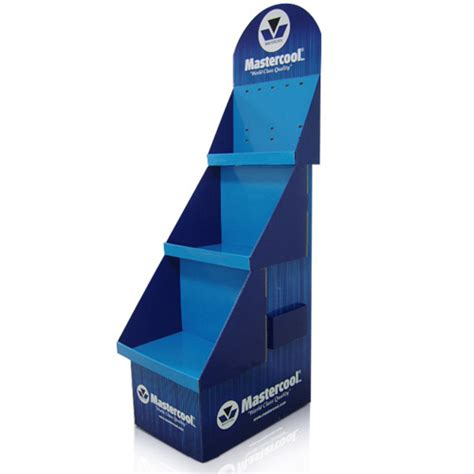 Cardboard Shelf Display Boxes by Point Of Purchase Corrugated Cardboard Display Cases