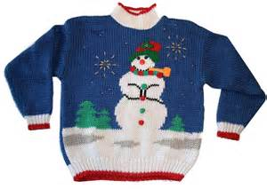Ugly christmas sweaters bootown grown up storytime