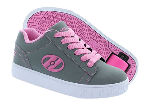 rolling shoes for heely s up roller shoe grey pink