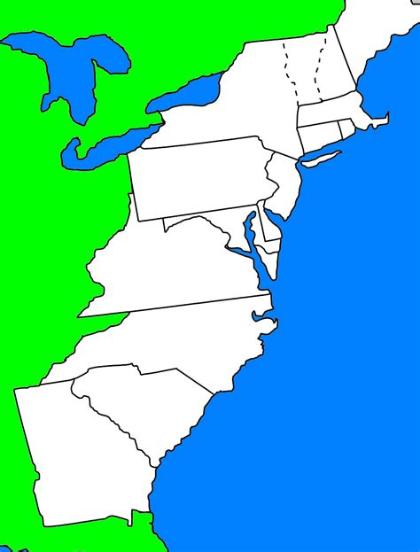 Colonie Map Game | 13 colonies map quiz new calendar template site