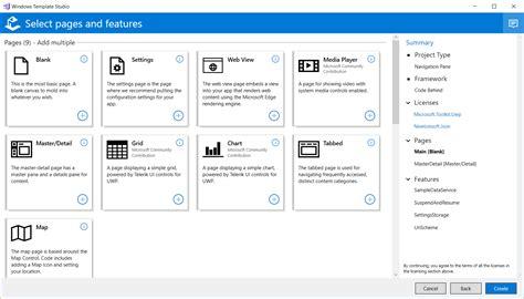 windows templates windows template studio 1 3 released windows 10 forums