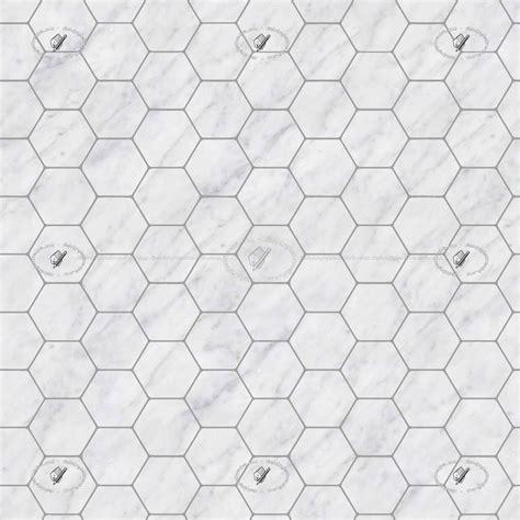 1 Hexagon Ceramic Floor Tile - hexagonal white marble floor tile texture seamless 1 21126