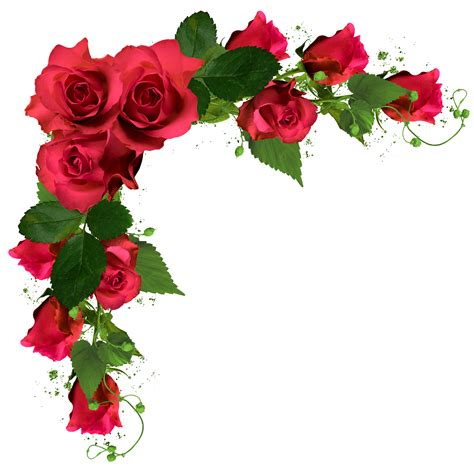 Long Flower Vase Online Beautiful Decor With Roses Png Clipart Picture Frames