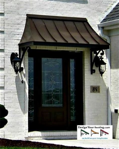 exterior metal window awnings 25 best ideas about metal awning on pinterest front