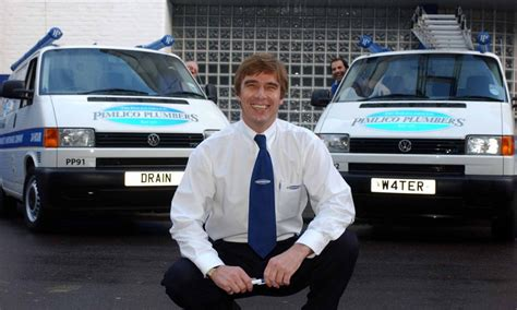 Pimlico Plumbing by Pimlico Plumbers Founder Mullins Takes Austerity