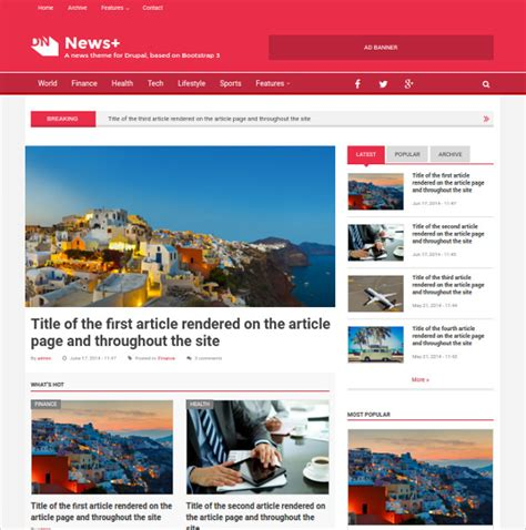 newspaper theme for drupal 19 news drupal themes templates free premium templates