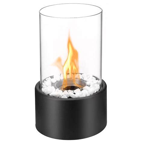 bio ethanol fireplace ventless tabletop portable bio ethanol fireplace in black