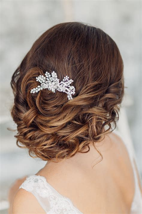 elegant wedding hair style floral fancy bridal headpieces hair accessories 2018 19