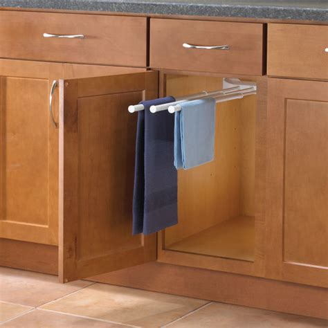 Kitchen Cabinet Towel Rack Kitchen Cabinet Towel Rack Photo 1 Kitchen Ideas