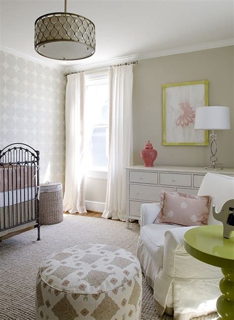 sweet pink baby s nursery with walls paint color antique crib pink gray crib