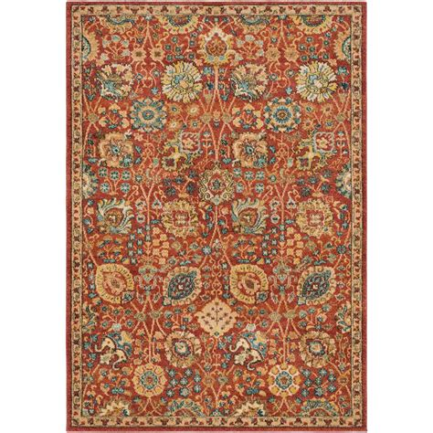 2 x 3 accent rugs artistic weavers macael burnt orange 2 ft x 3 ft accent