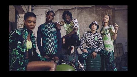 nigeria present 243 sus camisetas para el mundial rusia 2018