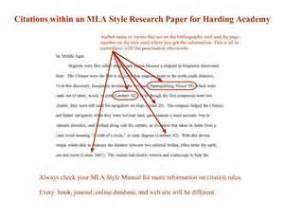 Quoting In A Research Paper Exles by How To Cite A In A Paper Questions And Answers