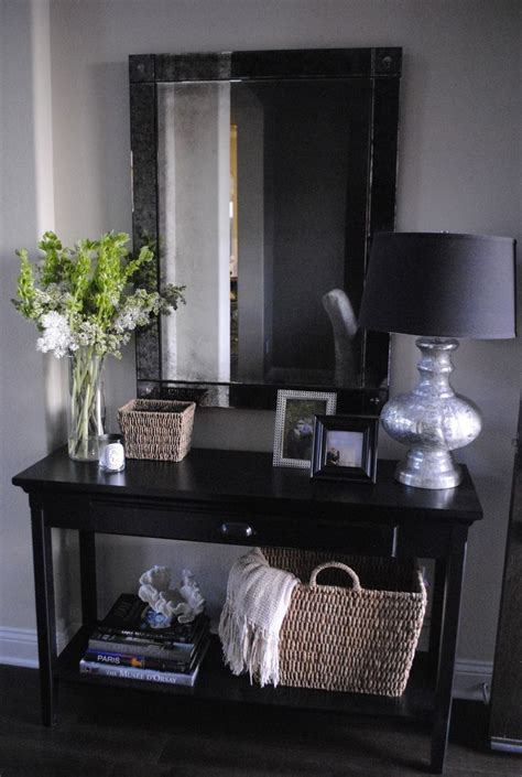 Table For Hallway Entrance 25 Best Ideas About Hallway Tables On Entry Table Entrance Tables And