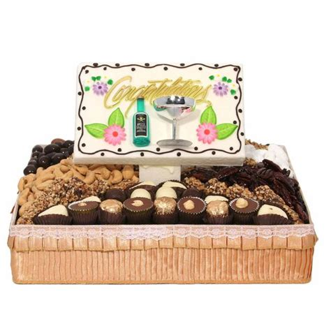 Wedding Congratulation Gifts by Medium Congratulations Gift Basket Wedding Gifts