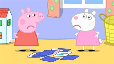peppa pig the quarrel season 2 episode 43 kinder end of