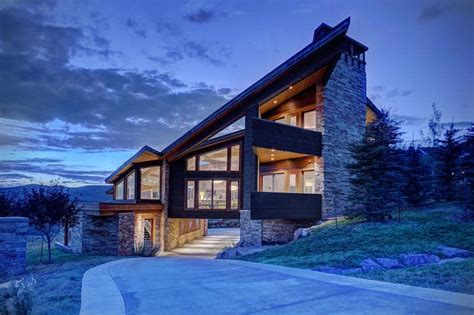artisans custom home design utah modern mansion in the picturesque town of park city utah