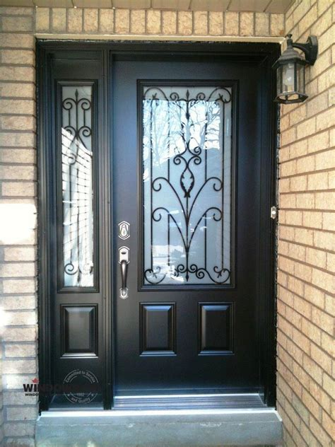 Insulated Front Entry Doors Steel Insulated Exterior Entry Doors Toronto