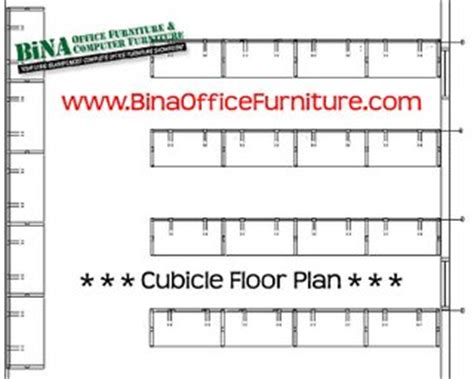 Cubicle Floor Plan by Bina Office Furniture Online Mineola Garden City New