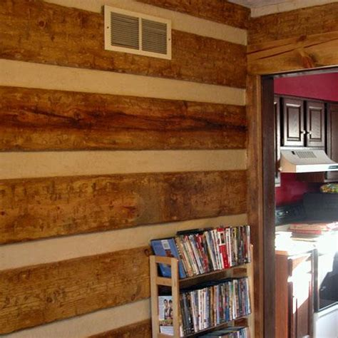 interior quot log wall quot