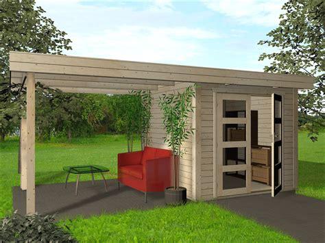 Gartenhaus Pultdach Bauanleitung