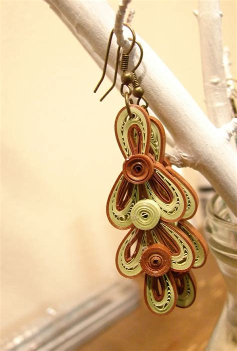 paper quilled flower earrings tutorial 17 best images about quilling and paper flowers on
